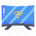 Television Smart Tv Internet Of Things Icon