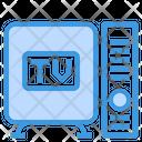 Smart Tv Box Smart Tv Smart Box Icon