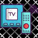 Smart Tv Box Tv Box Remote Icon