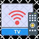 Remote Control Smart Tv Box Digital Tv Box Icon