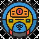Smart Vacuum Cleaner Vacuum Cleaner Robot Icon