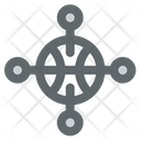 Network Smart World Icon