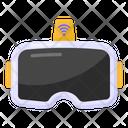 Vr Glasses Smart Vr Glasses Wireless Vr Headset Icon