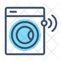Smart Washing Machine Icon