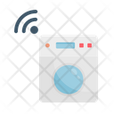 Washing Machine Washing Clothes Icon