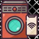 Smart Washing Machine Icon