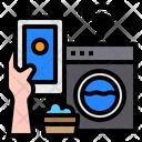 Wash Smartphone Mobile Icon