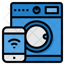 Smart Washing Machine Internet Of Things App Icon