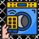 Smart Washing Machine Washing Machine Wash Icon