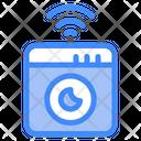 Smart Washing Machine Washing Machine House Icon