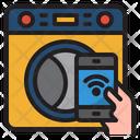 Smart Washing Machine Wash Machine Cloth Icon