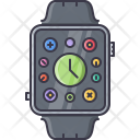 Smart Watches Gadget Icon