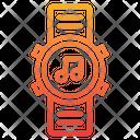 Music Smart Watch Smart Watch Music In Watch Icon