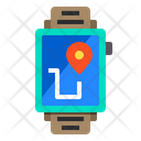 Smart Watch Pin Locations Icon