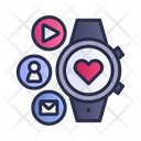 Smart Watch Healthcare Health Icon