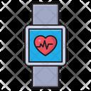 Health Smartwatch Life Icon