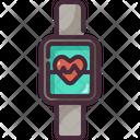 Smart Watch Fitness Watch Elecronics Icon