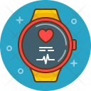 Heart Rate Love Icon