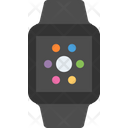 Smart watch black sport band Icon
