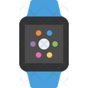Smart watch blue sport band Icon