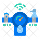 Smart Water Meter Icon