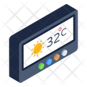 Digital Forecast Device Smart Weather Device Meteorology Device Icon