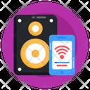 Smart Woofer Smart Speaker Wireless Speaker Icon