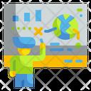 Smartboard Presentation Education Icon