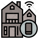 Smarthome Ageing Society Home Icon