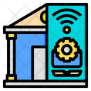 Smarthome Artificial Intelligence Icon