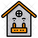 Smarthome Router Internet Of Things Icon