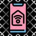 Control Smartphone Smarthome Icon