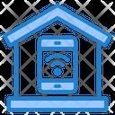 Smarthome Wifi Home Icon
