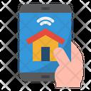 Smarthome Smartphone Home Icon