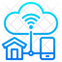 Smarthome Home Wifi Icon