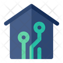 Smarthome House Technology Icon