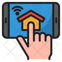 Smarthome Application Home Wifi Icon