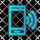 Smarthphone Ringing Phone Smartphone Icon