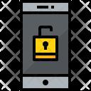 Smartphone Unlock Communication Icon