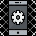 Smartphone Process Communication Icon