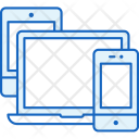 Laptop Tablet Iphone Icon