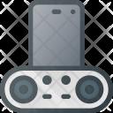 Smartphone Dock Sound Icon