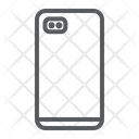 Smartphone Two Dual Icon