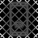 Smartphone Fingerprint Sensor Icon