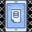 Smartphone Online Database Report Online Report Icon