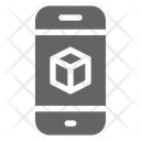 D Smartphone Printing Icon