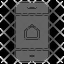 Smartphone Home Control Icon