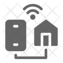 Smartphone Home Connectivity Icon