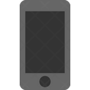 Iphone Plus Space Grey Front Iphone Mobile Icon