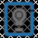 Smartphone Map Location Icon